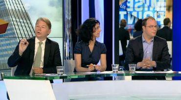 Philippe Lamberts (Ecolo), Marie Arena (PS) et Saïd El Khadraoui (SP.a)
