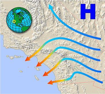 Incendies en Californie: Le Santa Ana ce vent qui attise les flammes