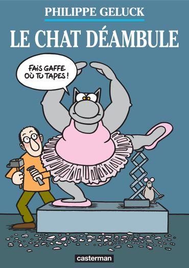 Le Chat déambule, Philippe Geluck