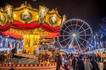 Plaisirs d'Hiver et marché de Noël / Ville de Bruxelles