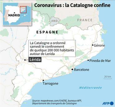 Coronavirus en Espagne : la Catalogne reconfine quelque 200.000 personnes