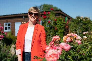Fanny Jandrain vous emmène dans les plus beaux jardins de Mélin