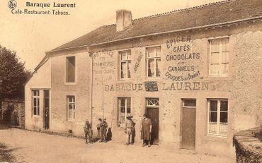 La baraque Laurent autrefois...