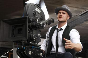 Shooting photo avec les comédiens belges qui montent