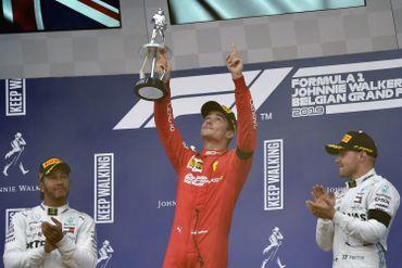 Charles Leclerc dédie sa victoire en Belgique à Charles Leclerc