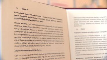 La charte LGBT+ aborde notamment la question du droit à l'éducation sexuelle dans les écoles