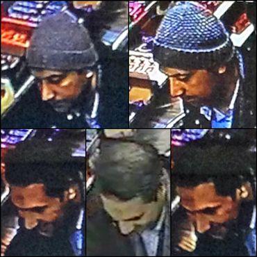 Des images de ces deux nouveaux suspects ont été capturées.