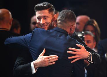 Mbape et Lewandowski 2019
