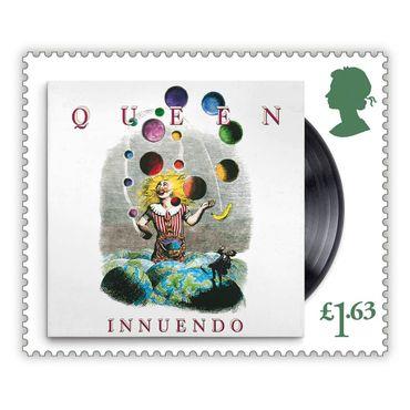13 timbres estampillés Queen!