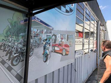 Un centre récréatif pour motards est aussi dans le collimateur des autorités communales.