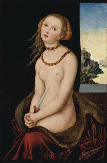 Lucretia de Lucas Cranach l'Ancien