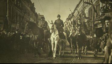 Joyeuse entrée du roi à Bruxelles, le 22 novembre 1918