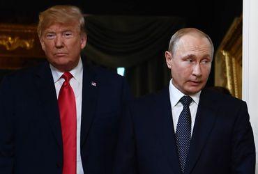 Donald Trump et Vladimir Poutine prêts pour leur tête à tête.