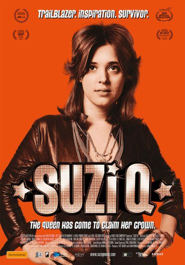 Le documentaire sur Suzi Quatro est là!