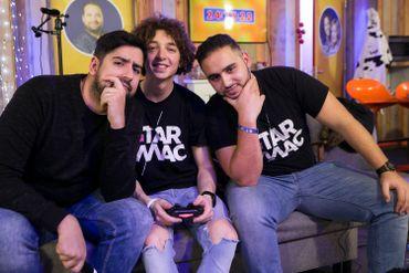 Sunny, Tahiti et Abdel en vrai représentaient la jeune génération.