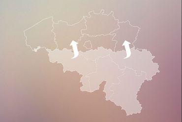 Les déplacés seraient presqu'aussi nombreux que l'ensemble des habitants de la Wallonie.