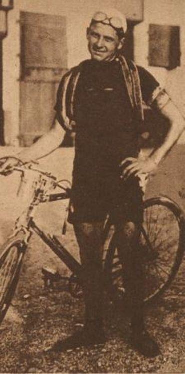 Alfredo Binda avant la course