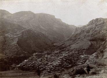 Anonyme - Le gros bourg arménien de Hadjine (Cilicie)