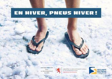 Le Grand-Duché de Luxembourg a rendu les pneus neige obligatoires depuis 2012 en cas d'intempéries hivernales. Pourtant le sommet du pays est plus bas que celui de la Belgique par exemple