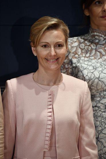 Mojca Stropnik, la femme du premier ministre slovèneMiro Cerar.