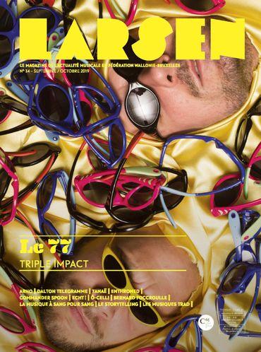 La couverture du numéro 34 de Larsen