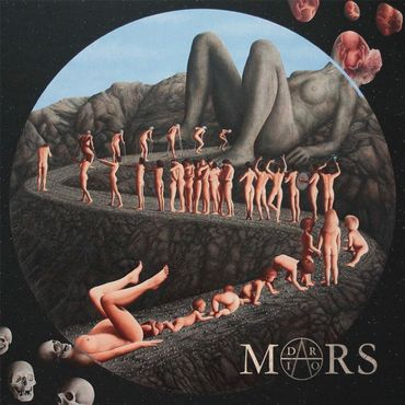 "La cover de l'album ""Flesh"" de Dario Mars"