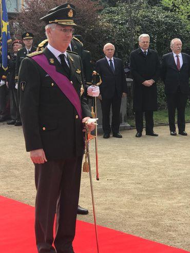 Le Roi rend hommage aux 252 soldats belges morts en opération depuis 1945