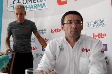 Jan Mathieu aux côtés de Gilbert en 2011