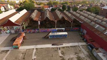 Un bel exemple de reconversion d'un site industriel : l'ancienne usine des ACEC Ateliers de construction électrique de Charleroi. On y découvre aujourd'hui la Fabrik.