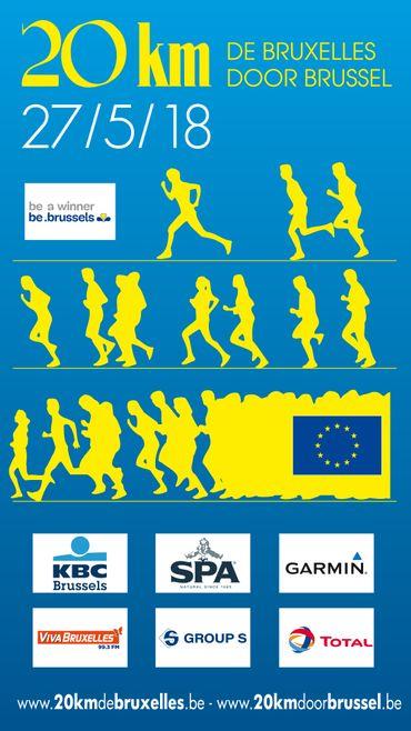 """Résultat de recherche d'images pour """"20 km bruxelles 2018"""""""