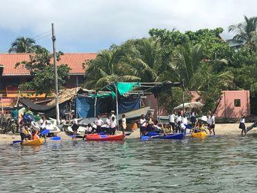Les pêcheurs de la presqu'île de Baru