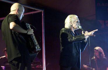 Christophe en concert à Nancy, en 2002