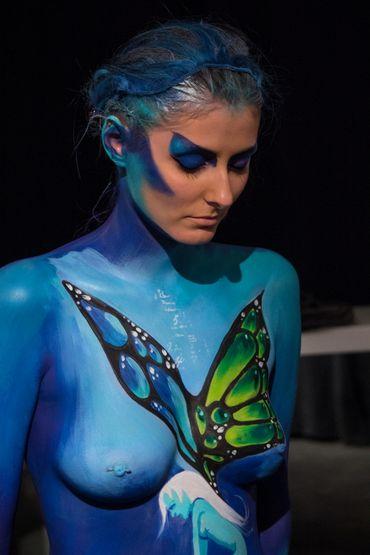 BIFFF 2017: 30e édition international du concours de body-painting