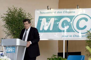 Gérard Deprez lors du 10ème anniversaire du MCC, en 2008