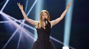 Blanche sur la scène de l'Eurovision 2017