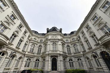 Cour des Comptes à Bruxelles.