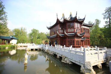 Une réplique de la plus vieille maison de thé de Shanghai.