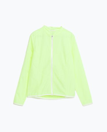 Coupe-vent fluo signé Zara Fitness