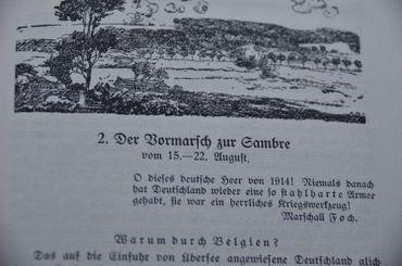 Carnet du 15ème régiment d'infanterie allemand