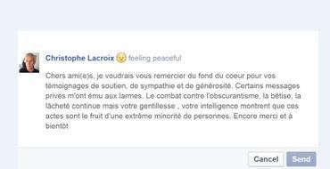Le ministre Christophe Lacroix porte plainte pour insultes homophobes