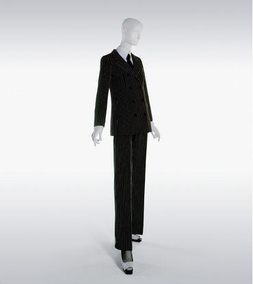 Tailleur pantalon, collection haute couture printemps-été 1967.
