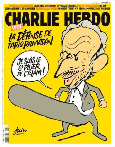 La une qui vaut à Charlie Hebdo de nouvelles menaces de mort.