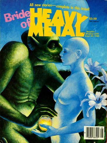 Heavy Metal (September 1985) Bride of Heavy Metal