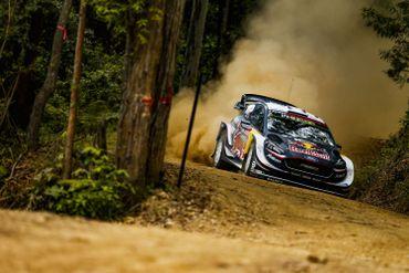 La Ford Fiesta WRC de Sébastien Ogier