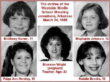 Les victimes de Golden et Mitchell