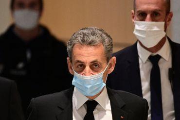 L'ancien président français ce 1er mars