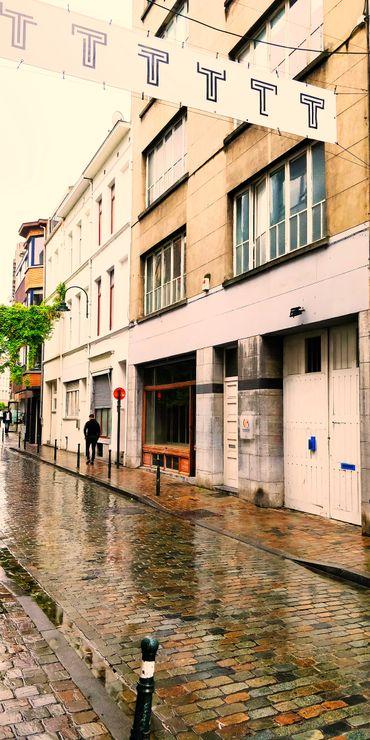Théâtre Les Tanneurs, rue des Tanneurs 75-77 à Bruxelles