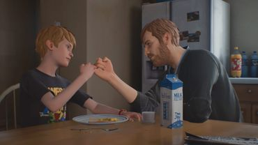 La relations entre Chris et son père est à la fois tendre et complexe