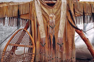 Vêtement indien au musée de Wendake