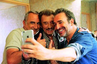 """""""Chacun sa vie"""" avec Jean Dujardin, Johnny Hallyday et Antoine Duléry"""